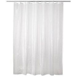 Zasłonka prysznicowa Lacha 180 x 200 cm transparentna