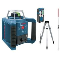 Niwelator laserowy bosch grl 300 hvg - zielony marki Bosch niebieski