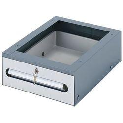 Rau System stanowisk pracy, podbudowa stołu, blok wiszący z szufladami, szer. x głęb