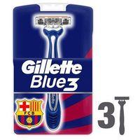 Gillette  blue 3 fcbarcelona jednorazowe maszynki do golenia 3 szt. (7702018435302)