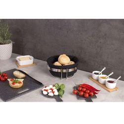 Koszyk na chleb, pieczywo, owoce - kolor czarny, ZELLER (4003368272498)