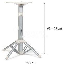 ap02 - podstawa teleskopowa do prasowalnic parowych apollo, wysokość 63-73 cm marki Texi
