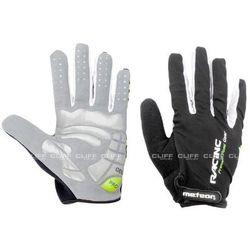 Rękawiczki rowerowe meteor racing green wyprodukowany przez Inne