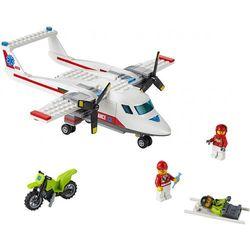 City SAMOLOT RATOWNICZY (Ambulance Plane) 60116 marki Lego [zabawka]