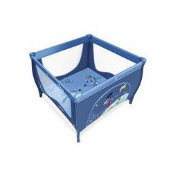 Kojec dziecięcy Play Baby Design (niebieski) - produkt z kategorii- Kojce