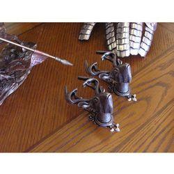 Zestaw wieszaków srebrne jelenie (k1067) marki Hiszpania