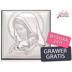 Valenti & co Obrazek srebrny maryja tuląca jezusa