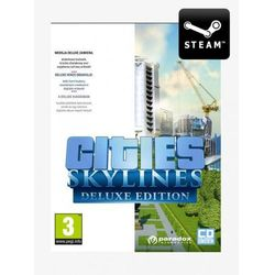 Cities Skylines Deluxe Edition PL - Klucz