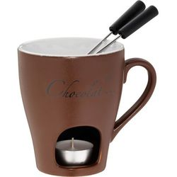 Kela  zestaw do fondue alma brązowy (4025457118128)