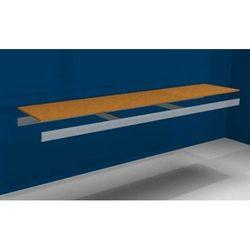 Dodatkowa półka, z trawersami i płytą wiórową, szer. x gł. 2500 (2x1250 mm) x 50