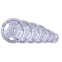 Zestaw obciążenia olimpijskiego stalowego  hamerton 1,25-25kg od producenta Insportline