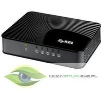 Zyxel 5-port 10/100/1000mbps gigabit ethernet switch, 3 qos ports (1port