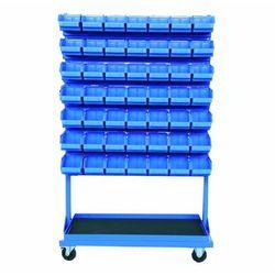 Stojak narzędziowy z 7 listwami na 49 pojemników P3 (jednostronny) P-5-03-02 (5904054401347)