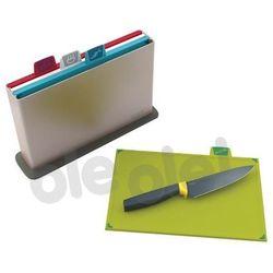 Zestaw 4-ech desek index + nóż gratis marki Joseph joseph