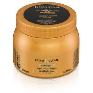 elixir ultime oleo complex - maska do każdego rodzaju włosów 500ml marki Kerastase