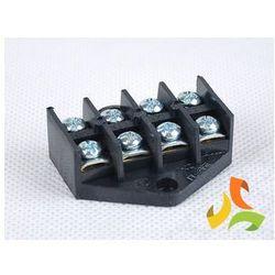 Listwa zaciskowa, złączka 4x4mm2 gwintowana czarna SIMET (świetlówka) od MEZOKO.COM
