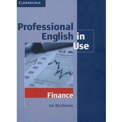 Professional English in Use Finance, pozycja wydawnicza