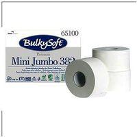 Papier toaletowy BulkySoft Premium 65100 mini jumbo, 2 warstwy 145m, 12 rolek