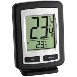 TFA Termometr z czujnikiem bezprzewodowym Zoom (4009816019844)
