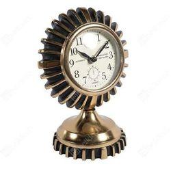 Zegar stojący GOLD LINE C4826822 Belldeco okrągły złoty, kolor Zegar