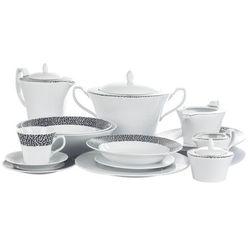 Chodzież venus black & white serwis obiadowy i kawowy 84/12 k244 marki Chodzież / venus