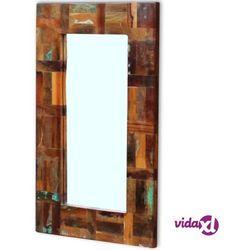 lustro z drewna odzyskanego 80x50 cm marki Vidaxl
