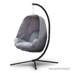 Fotel wiszący materiałowy szary Goodhome (5903089063698)