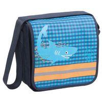 LÄSSIG Torba Mini Messenger Bag Classic Design Shark ocean - sprawdź w wybranym sklepie