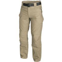spodnie Helikon UTL Canvas khaki UTP LONG (SP-UTL-CO-13), kolor zielony