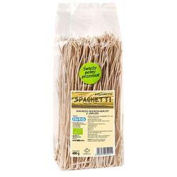 400g spaghetti makaron pełnoziarnisty z orkiszu ekologiczny bio marki Niro