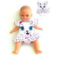 Body niemowlęce Sukienka Różowe Kotek Rozmiar 80, kolor różowy