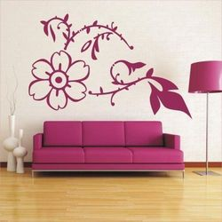Kwiaty 3 szablon malarski marki Deco-strefa – dekoracje w dobrym stylu