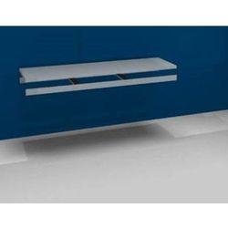 Unbekannt Dodatkowa półka w komplecie z trawersami i półką stalową, szer. 2000 mm, gł. 600