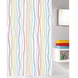 Kleine wolke tekstylna zasłona prysznicowa jolie 180 x 200 cm multi (4004478195028)