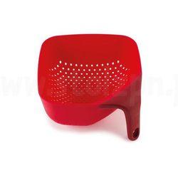Joseph joseph Kwardratowy durszlak mały, czerwony plus -