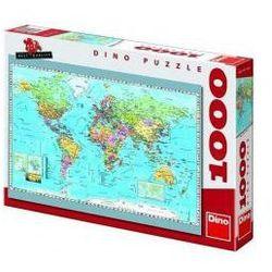 Puzzle 1000 Mapa Polityczna DINO - sprawdź w lovebooks.pl - z miłości do czytania!