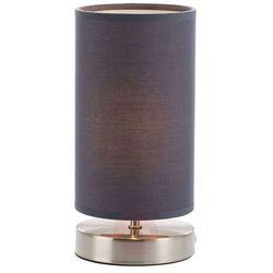 Lampka nocna 13247/22, 1x40 w, e14, szary, (Øxw) 12 cmx25.5 cm, 230 v marki Brilliant