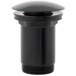 Korek do syfonu umywalkowego OMNIRES A706 Czarny mat