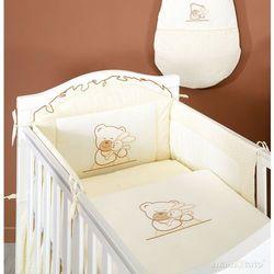 MAMO-TATO pościel 2-el Tulisie ecru do łóżeczka 70x140cm z kategorii Komplety pościeli dla dzieci