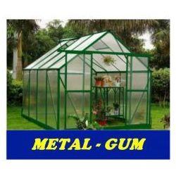 Metal-gum Szklarnia ogrodowa poliwęglan 7,75m2