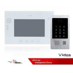 Zestaw wideodomofonu z szyfratorem i czytnikiem kart RFID Vidos S20DA_M670W