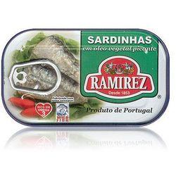 Ramirez Sardynki portugalskie pikantne w oleju  125g
