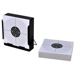 vidaXL Tarcza strzelecka 14cm + tarcze papierowe x 100, kup u jednego z partnerów