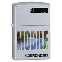 Zapalniczka ZIPPO Szerokości Mobile, Satin Chrome (Z205021) z kategorii Zapalniczki