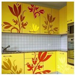 Wally - piękno dekoracji Szablon malarski motyw kwiatowy 1244