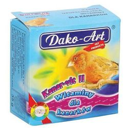 kanar-vit ii - witaminy dla kanarków 35g wyprodukowany przez Dako-art