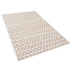 Dywan beżowy 80x150 cm krótkowłosy tunceli marki Beliani