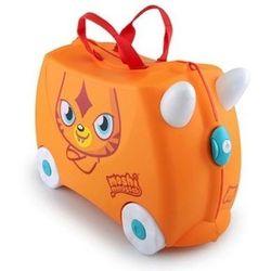 Walizka TRUNKI Poppet Moshi Monsters jeżdżąca Pomarańczowy, Trunki - Walizeczki i akcesoria