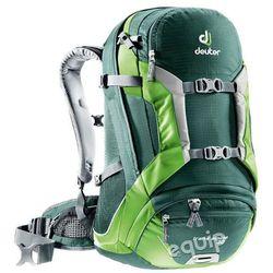 Plecak rowerowy Deuter Trans Alpine 30 - forest - kiwi z kategorii Sakwy, torby i plecaki rowerowe