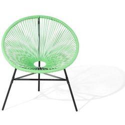 Krzesło rattanowe zielone ACAPULCO (7105278534448)